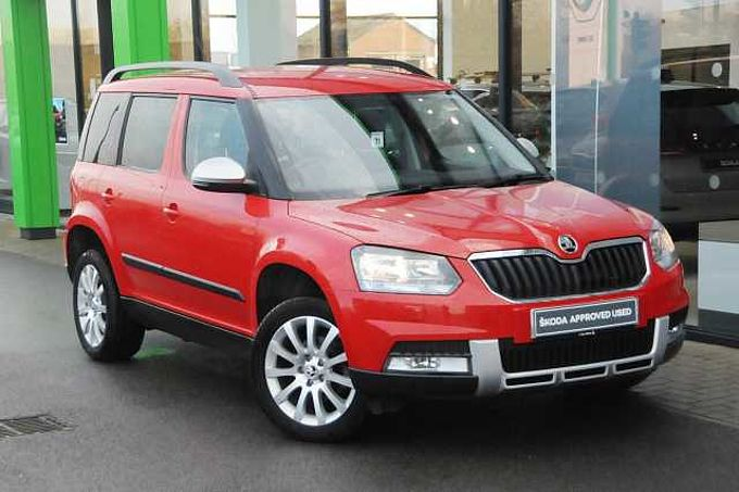 SKODA Yeti 2.0 TDI SCR (110PS) SE Outdoor 5-Dr